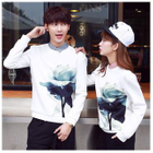 Flower Print Matching Couple Pullover от YesStyle.com INT