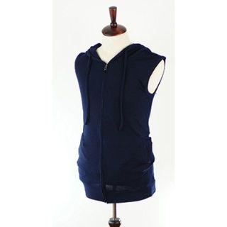 Image of Hooded Zip Vest