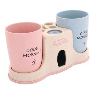 Set: Toothbrush Stand + Cups 1066661065