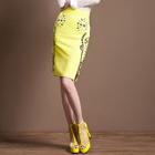 Jeweled Pencil Skirt 1596