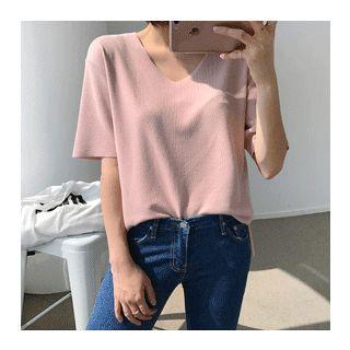 Short-Sleeve V-Neck T-Shirt 1059500909