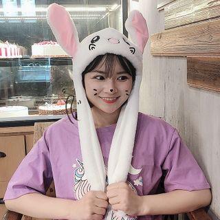 Rabbit | White | Size | Hat | One