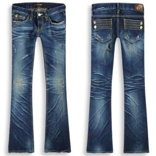 Picture of Bluemint Boot-cut Washed Jeans 1012266098 (Womens Boot-Cut Pants, Bluemint Pants, South Korea Pants)