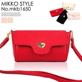 Buy Mikko Faux-Leather Cross Bag 1022972308