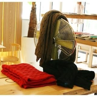 Picture of BoynMen Cable-Knit Scarf 1021883403 (BoynMen, Mens Hats & Scarves, Korea)