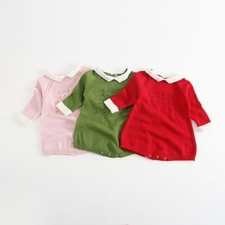 Baby Short-Sleeve Knit Bodysuit