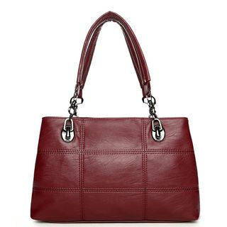 Faux-Leather Tote 1064586486