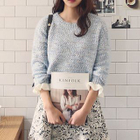 Frill Trim Sweater 1596
