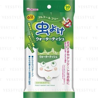 Image of Insect Repellent Wet Tissue 20 pcs