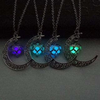 Moon Glowing Necklace 1050631799