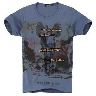Buy Justyle Short-Sleeve Printed Tee 1022740595