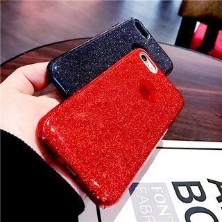 Glitter Mobile Phone Case - Apple iPhone 6 / 6 Plus / 7 / 7 Plus / 8 / 8 Plus / X 1057299237