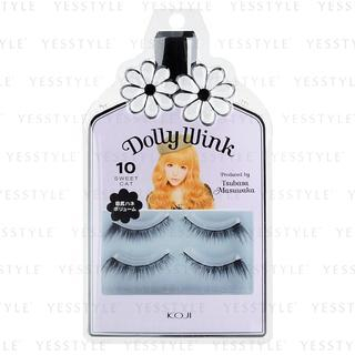 Koji - Dolly Wink Eyelash (#10 Sweet Cat) 2 pairs 1030892692