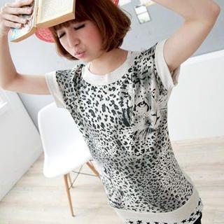 Buy ZOO Leopard Print Tee 1022735101