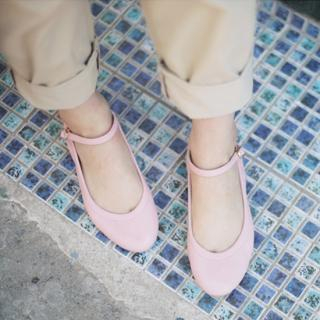 Picture of VIVIDRESS Mary-Jane Flats 1022498919 (Flat Shoes, VIVIDRESS Shoes, Korea Shoes, Womens Shoes, Womens Flat Shoes)