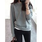 Round-Neck Cotton Pullover от YesStyle.com INT