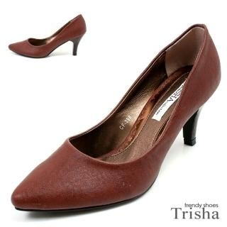 Buy Trisha Faux Leather Pointy Pumps – Heels 7cm 1021145418