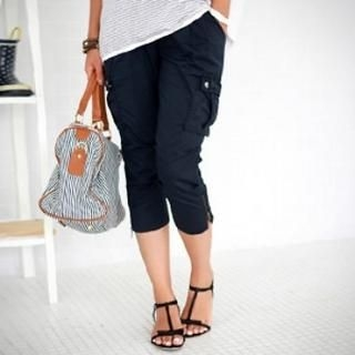 Buy Momnuri Cropped Maternity Pants 1022999470