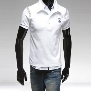 Buy Style YOURS Embroidered Short-Sleeve Polo T-Shirt 1022492987