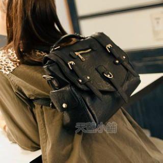 Belted Flap Cross Bag