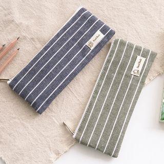 Striped Pencil Case 1056933628