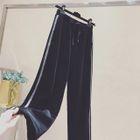 Fleece-Lined Wide Leg Pants 1596
