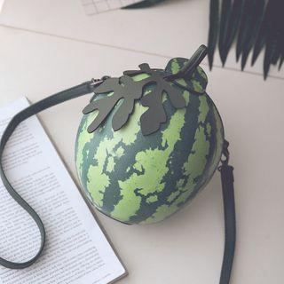 Watermelon   Shoulder   Green   Size   Bag   One