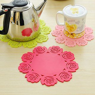 Floral Cup Mat 1051035200