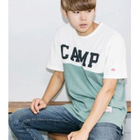 Color-Block Lettering T-Shirt от YesStyle.com INT