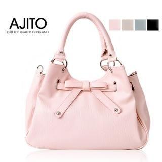 Buy AJITO Faux-Leather Tote 1022195012