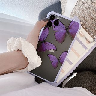 Image of Butterfly Print Mobile Case - iphone 7 / 8 /7plus / 8plus / X / XS / XS Max / XR /11/11 Pro/11 Pro Max