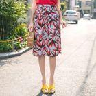 Pattern Pencil Skirt 1596