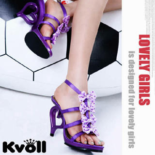 Buy Kvoll Bow-Accent Strappy Sandals 1022533339