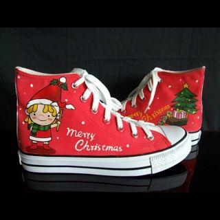 Buy HVBAO Christmas Elf High-Top Sneakers 1012891560