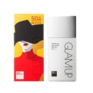 Editors Pick Glam Up Whitening Sun Cream SPF50+ PA++++ 30ml