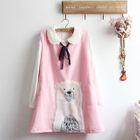 Bear Applique Sleeveless Dress 1596