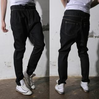 Buy REENO Drawstring Baggy Jeans 1022908248