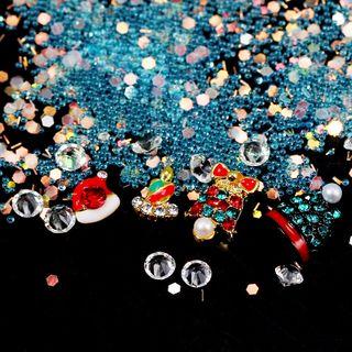 Decoration | Rhinestone | Christmas | Sequin | Nail | Art