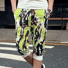 Camouflage Cropped Sweatpants 1596