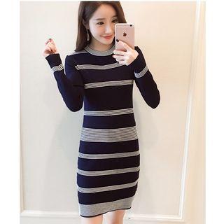 MAVIS Striped Knit Dress