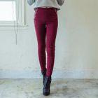 Zip-Detail Skinny Pants 1596