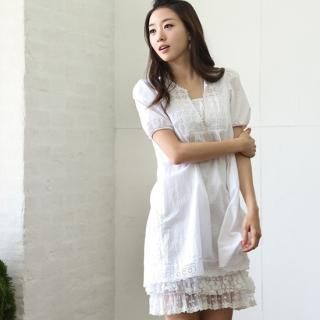 Buy STYLEKELLY Puff-Sleeve Dress 1022765203