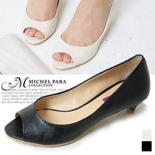 Buy MICHEL PARA COLLECTION Open-Toe Pumps 1022939843