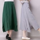 Linen-blend Skirt от YesStyle.com INT