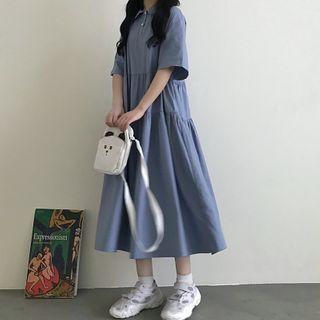 Dress   Polo   Blue   Size   One