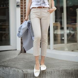 Buy STYLEKELLY Cropped Skinny Pants 1022526460