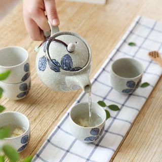 Set: Floral Teapot + Cup 1057527693