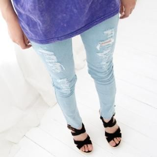Buy Cookie 7 Distressed Skinny Jeans 1022765304