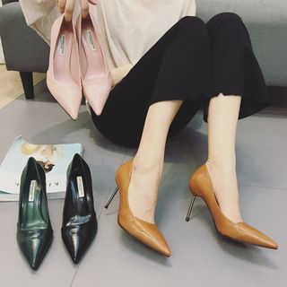 Image of High-heel Pointed Pumps