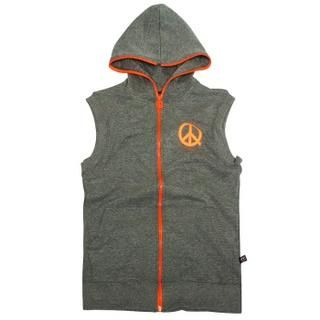 Buy 3QR Zipped Hood Vest 1019613516